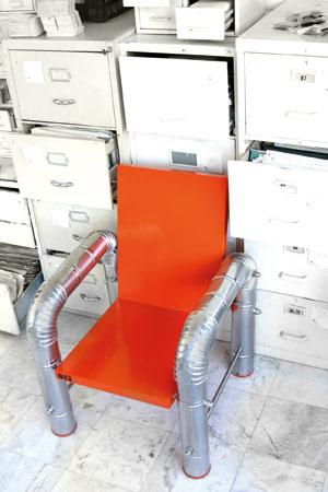 La chaise Beaubourg de Georges Mohasseb.