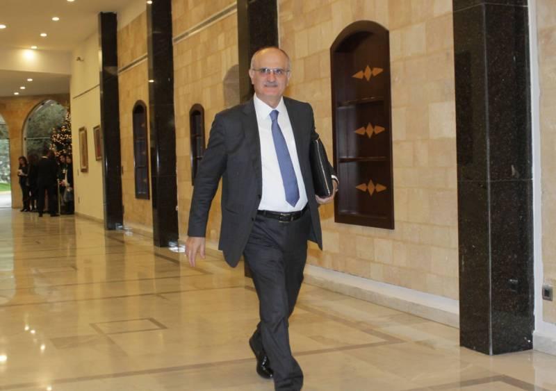 Le ministre des Finances, Ali Hassan Khalil.