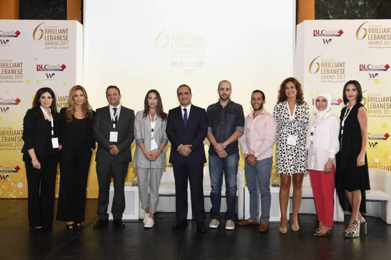 Certains des candidats des Brillant Awards lors de la cérémonie de lancement de l'édition 2017