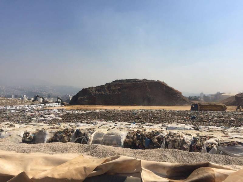 La décharge de Bourj Hammoud arrivera à saturation d'ici à décembre 2017