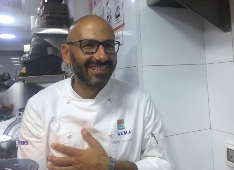 Le chef Pablo Amadori a concocté le dîner de lancement de la Semaine de la cuisine italienne au restaurant Gavi.