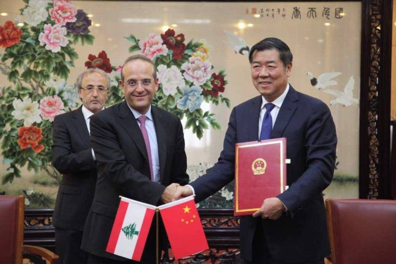Le Liban et la Chine signent un accord de coopération