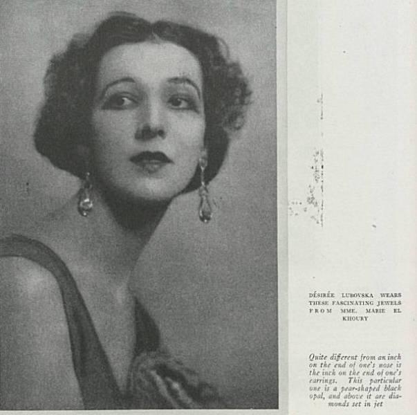 La créatrice de bijoux Marie-Azeez el-Khoury entretint une longue correspondance avec Khalil Gibran