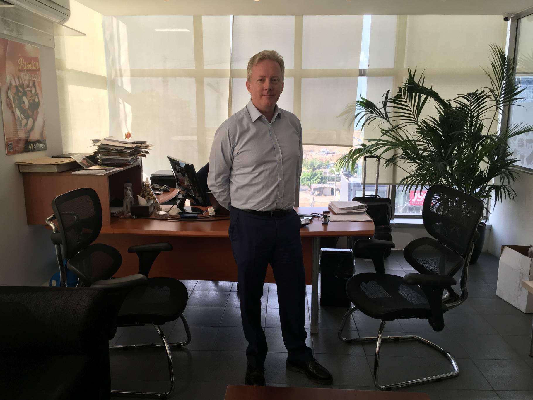 Michael Wright : « Spinneys détient entre 5 et 7 % de parts de marché »