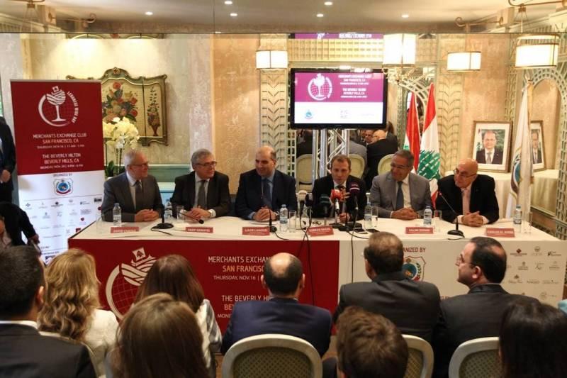 Lors de la conférence de presse, les participants ont insisté sur la qualité grandissante de la production vinicole libanaise