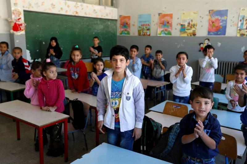 Réfugiés syriens: la transparence des fonds versés pour l'éducation en question