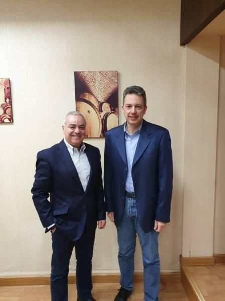 Elie Maamari et Gaston Hochar rejoignent l'Académie internationale du vin