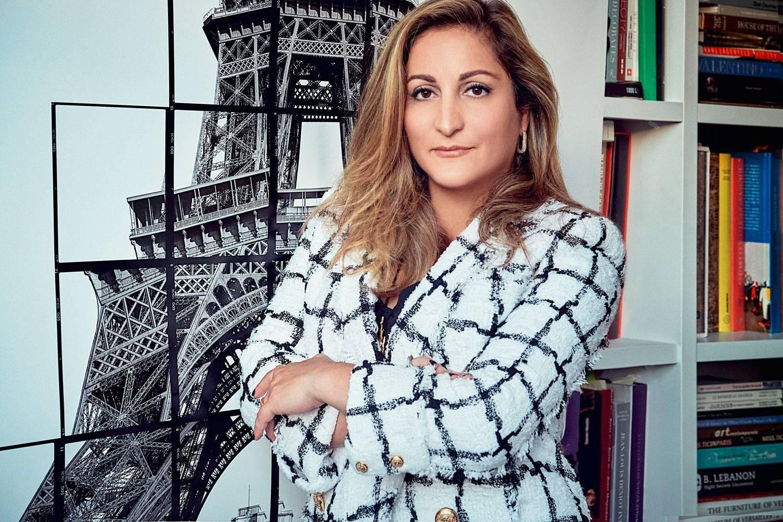 Aline Asmar d'Amman : du Crillon à la tour Eiffel, une architecte au sommet