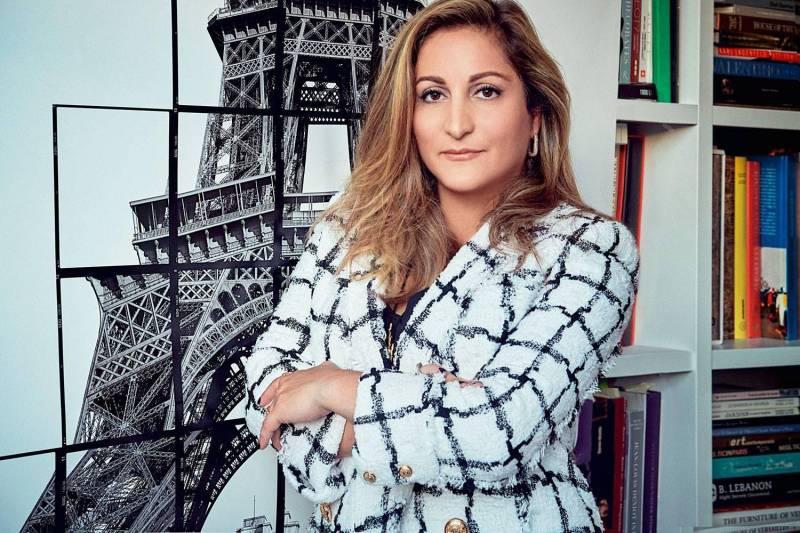 L'architecte libanaise Aline Asmar d'Amman réinvente l'intérieur du Jules Verne, le restaurant gastronomique de la tour Eiffel.