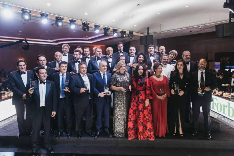 Cérémonie de remise des prix organisée par Forbes Middle East
