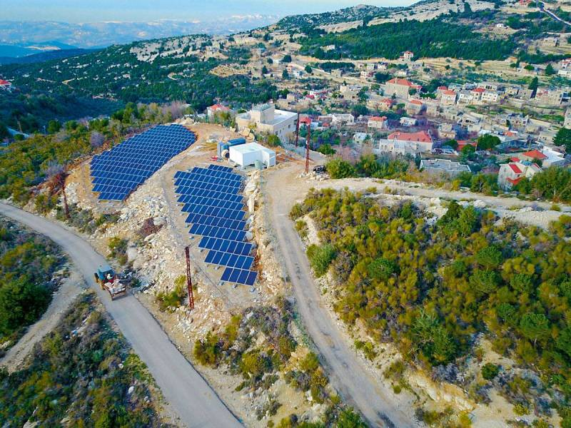 Electricity : when Lebanese villages go green