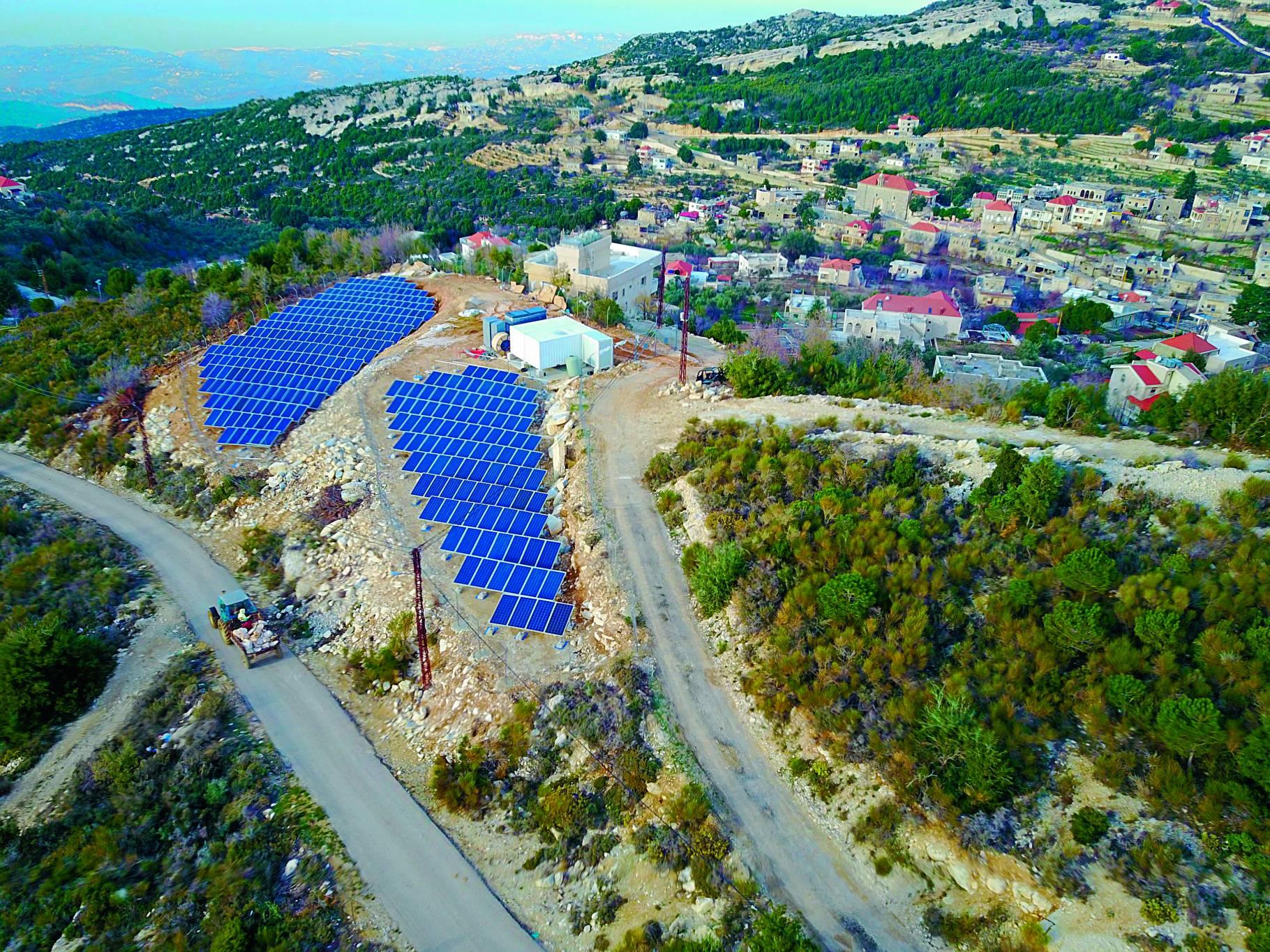 Des villages convertis au solaire