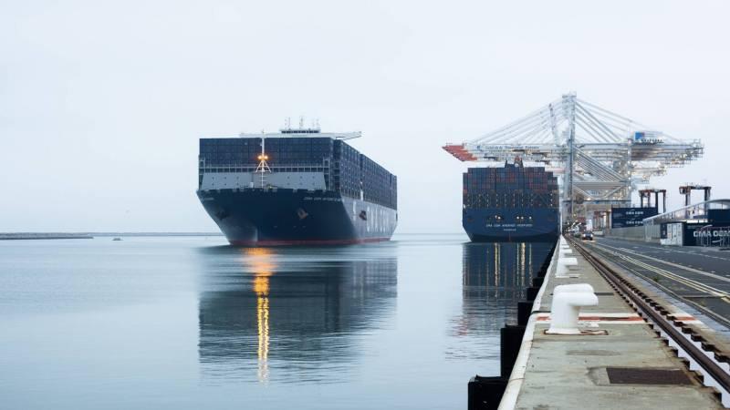 Ce nouveau fleuron de la flotte commerciale est aujourd'hui le plus gros porte-conteneurs au monde battant pavillon français