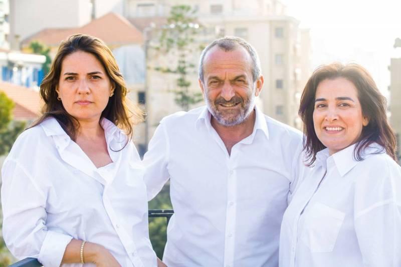 Alia Ibrahim, Hazem al-Amin et Diana Moukalled