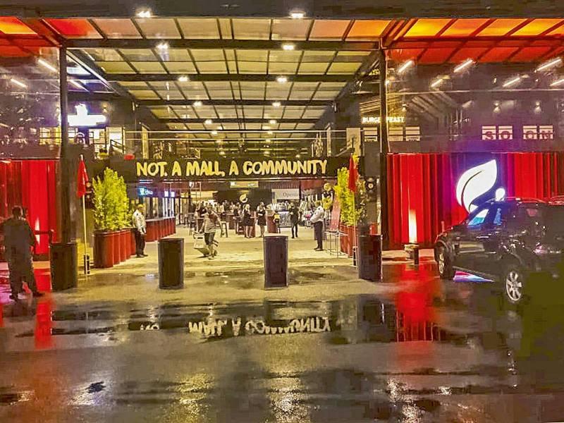 Eco 101 Mall, un nouveau centre commercial qui déboîte