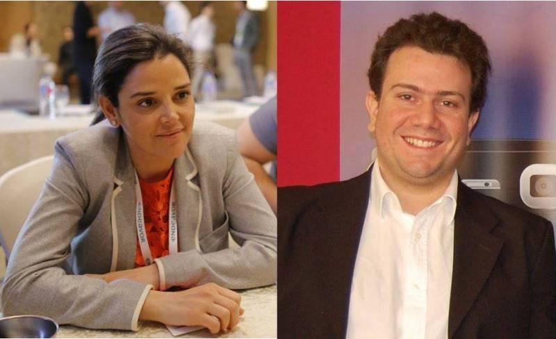 Nadine Hachache-Haram, de Proximie, et Elie Nasr, de FOO