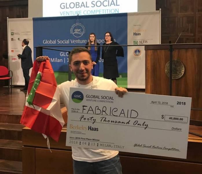 Une startup libanaise remporte un concours mondial d'entrepreneuriat social