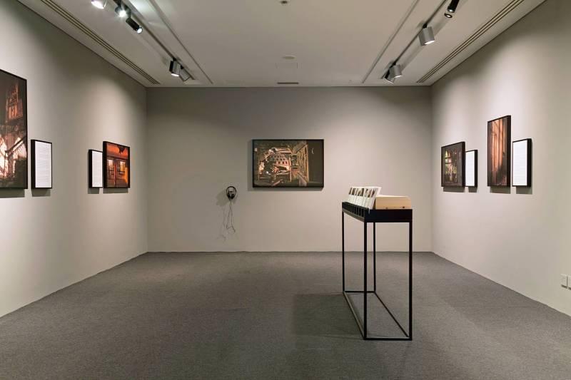 Gregory Buchakjian expose pour la première fois en solo au Liban au musée Sursock jusqu'au 11 février.