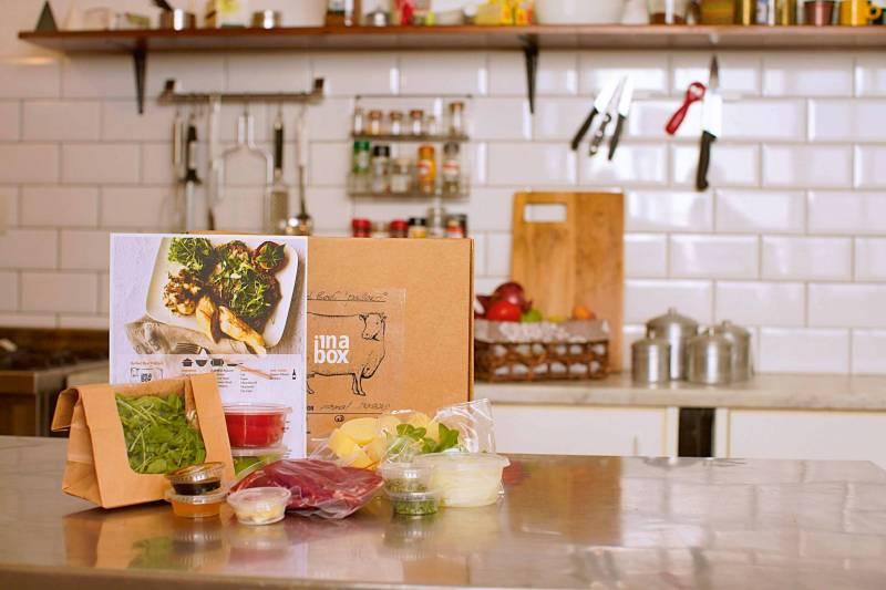 Inabox : un repas dans une boîte