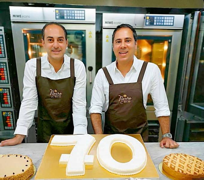Julien et Pierre Khabbaz ouvrent Noura au centre-ville