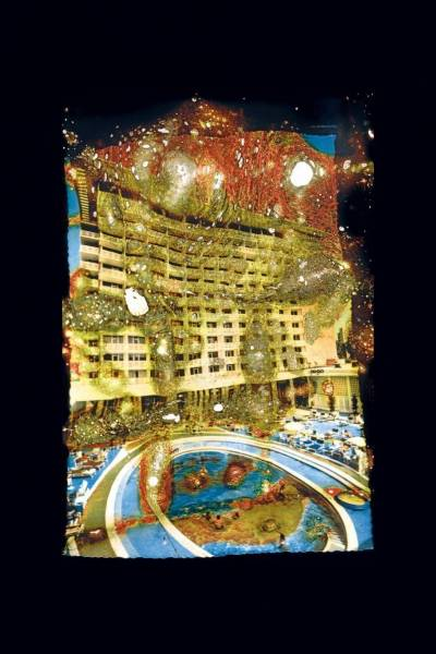 Parmi les oeuvres présentées à cette exposition, Wonder Beirut #99 des artistes Khalil Joreige et Joanna Hadjithomas