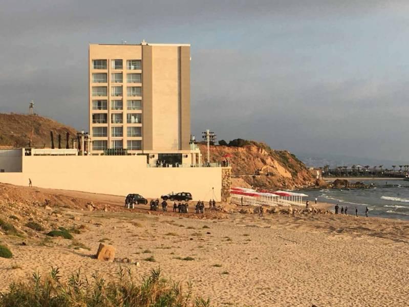 L'hôtel Lancaster Eden Bay, à Ramlet el Baïda
