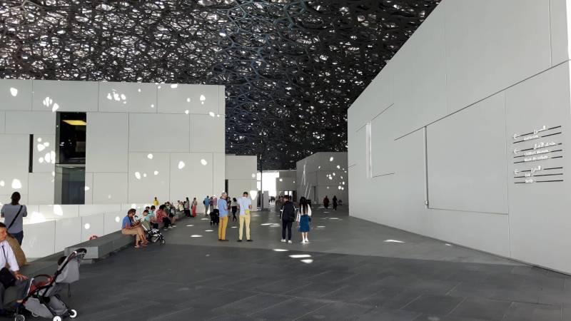 Le Louvre d'Abou Dhabi, un chantier piloté par Oger International