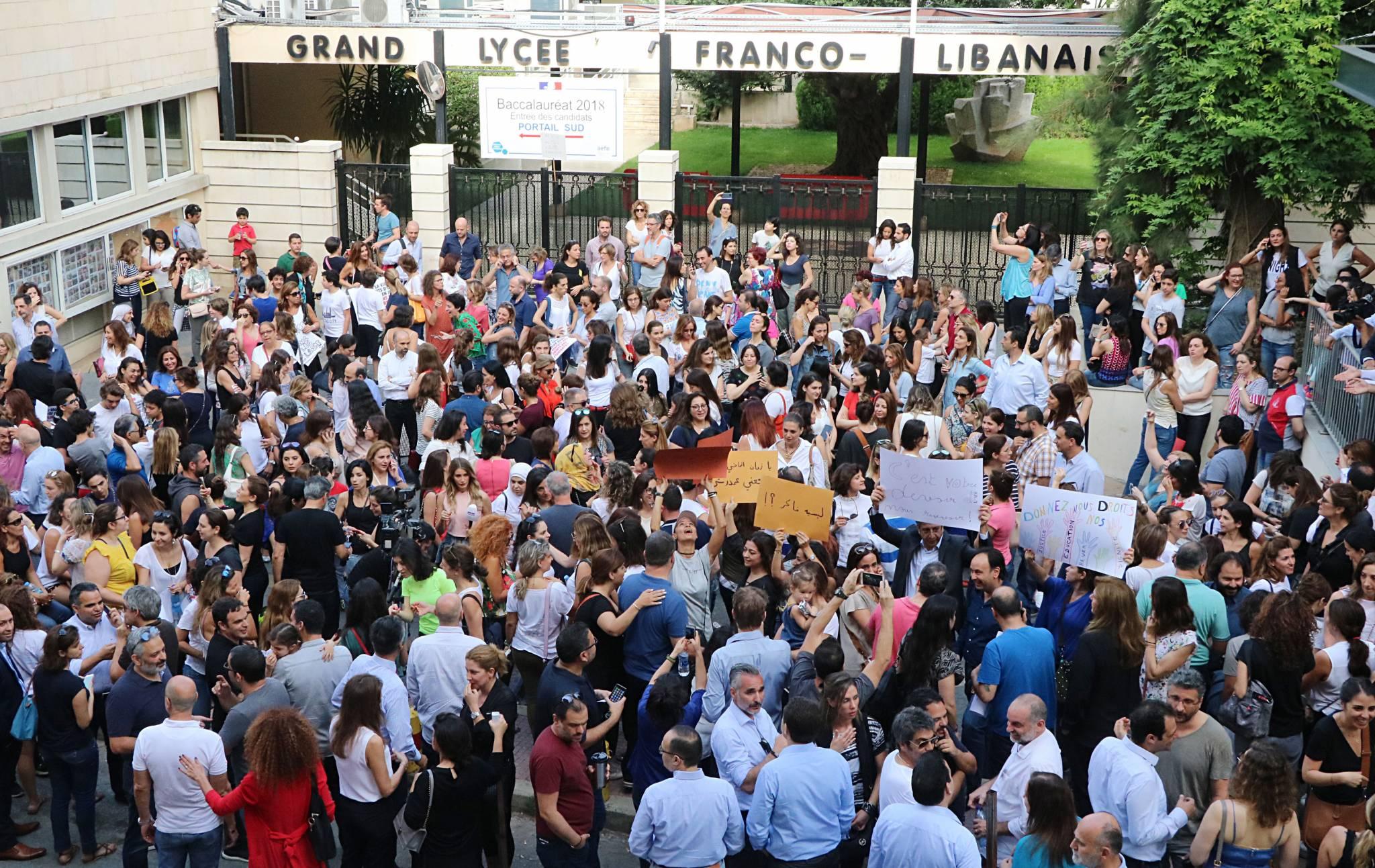 Retour sur l'énorme crise qui a secoué le Grand Lycée franco-libanais
