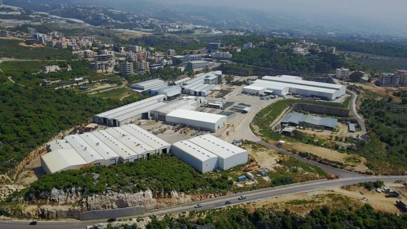 L'usine libanaise de Matelec à Gherfine