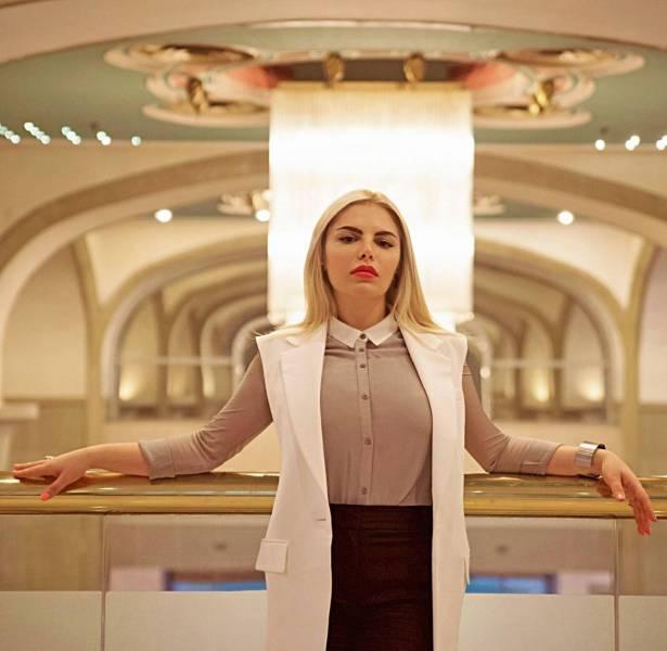 Rania Hoteit, following her American dream