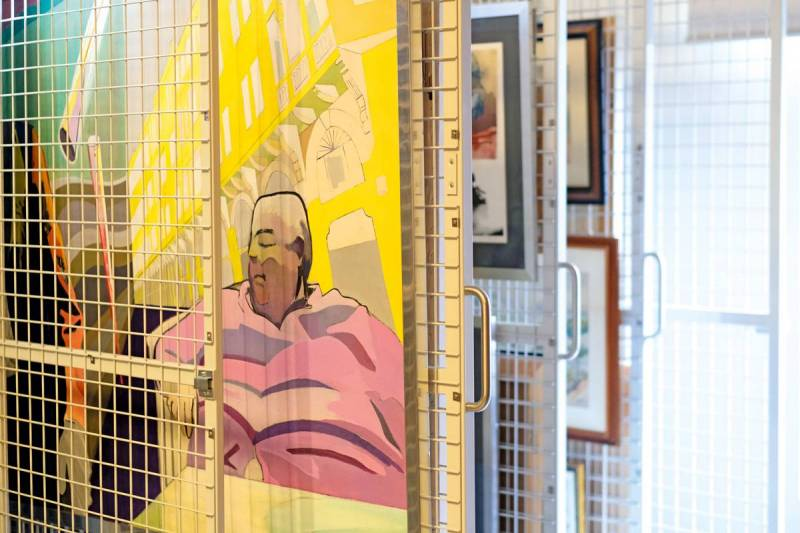 Saradar met sa collection d'art en ligne