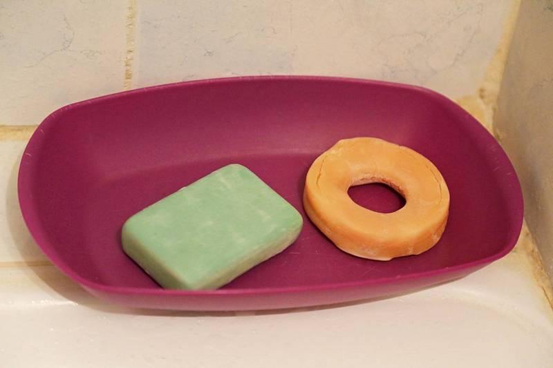 Savon baladi et shampooing solide, tout ce dont vous avez besoin! (Photo : C.B.)