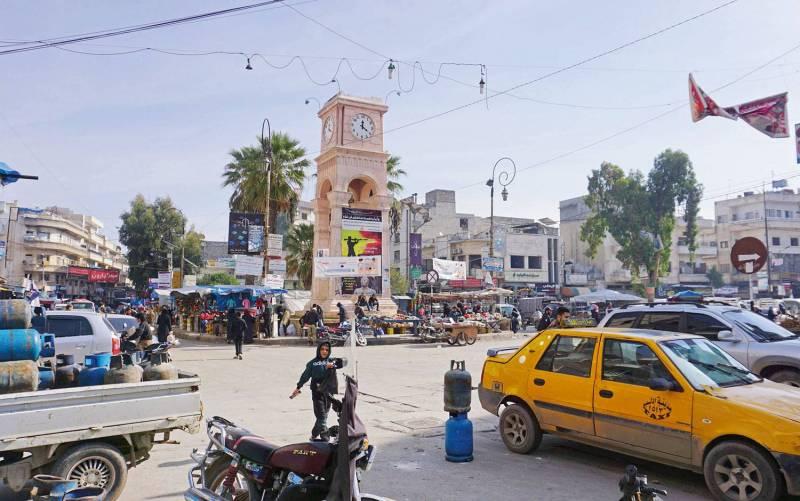 La ville de Idleb en novembre dernier