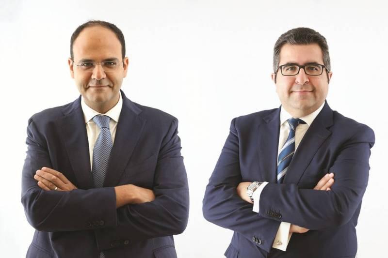Karim Bourhani et Wassim Heneine, les deux cofondateurs d'EIP
