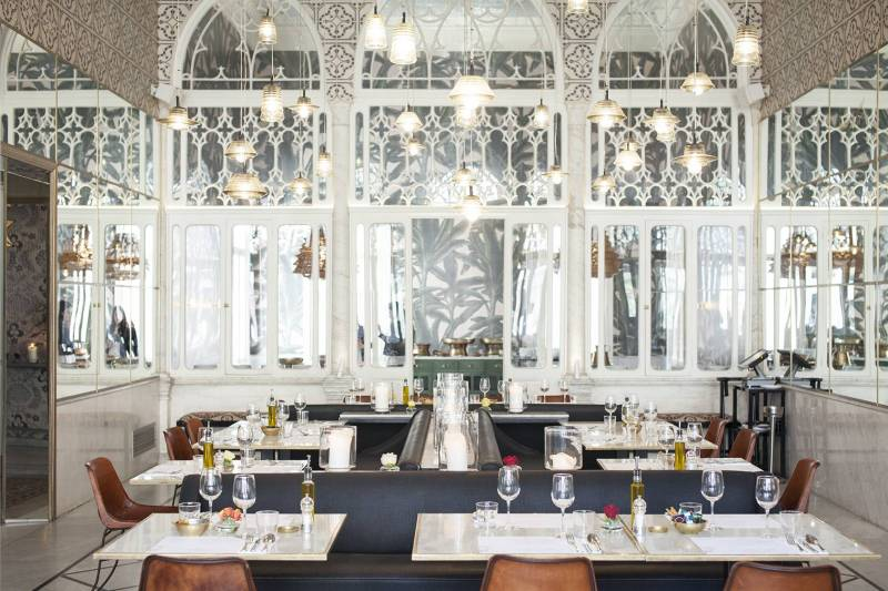 Le restaurant Liza s'est installé dans les étages du palais Abdallah Bustros