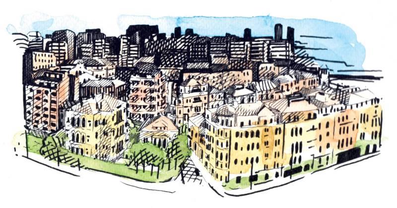 Des appartements toujours plus petits à Beyrouth, notamment à Achrafié