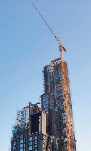 Baisse de 13% du nombre de chantiers résidentiels à Beyrouth