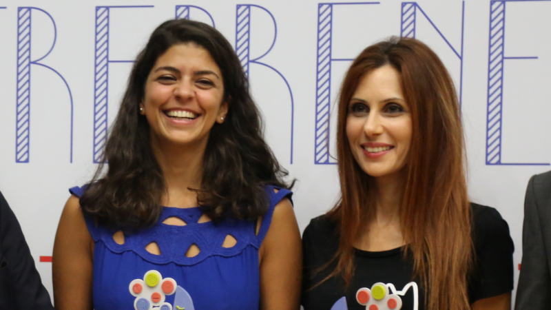 Les lauréates du prix FFE 2018, Marielle Khayat et Maya Bacha / Photo: C.B.
