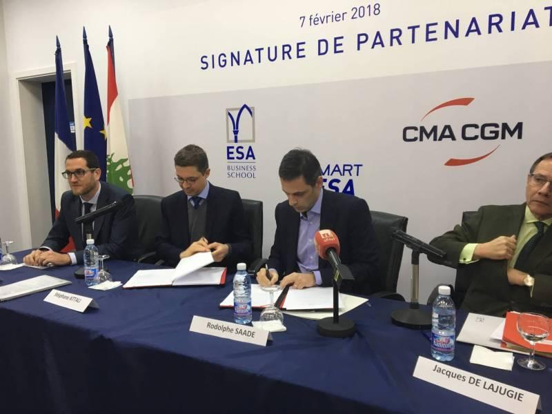 Partenariat entre CMA CGM et l'ESA pour soutenir les start-ups libanaises