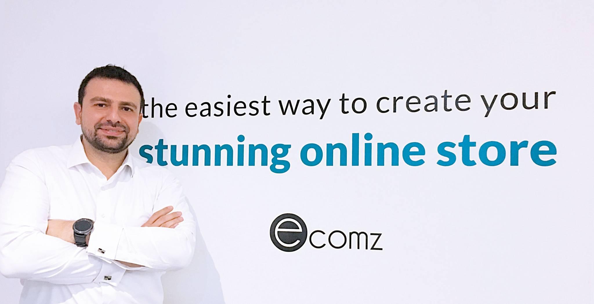 Rudy Bekerejian a lancé Ecomz, spécialiste de la création de boutiques en ligne