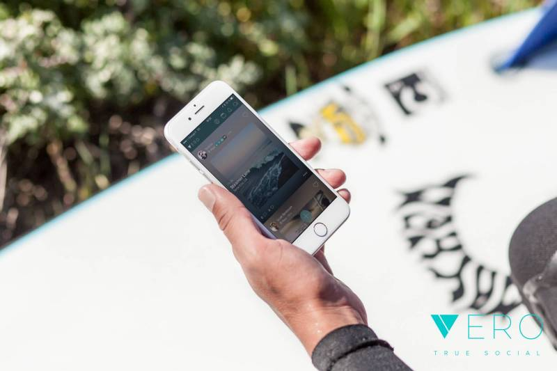 L'application mobile Vero