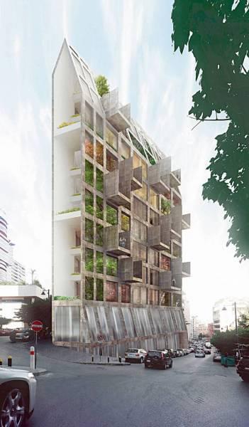 Rania Sarieddine Akhras : «Notre stratégie est d'avoir un immeuble différent»