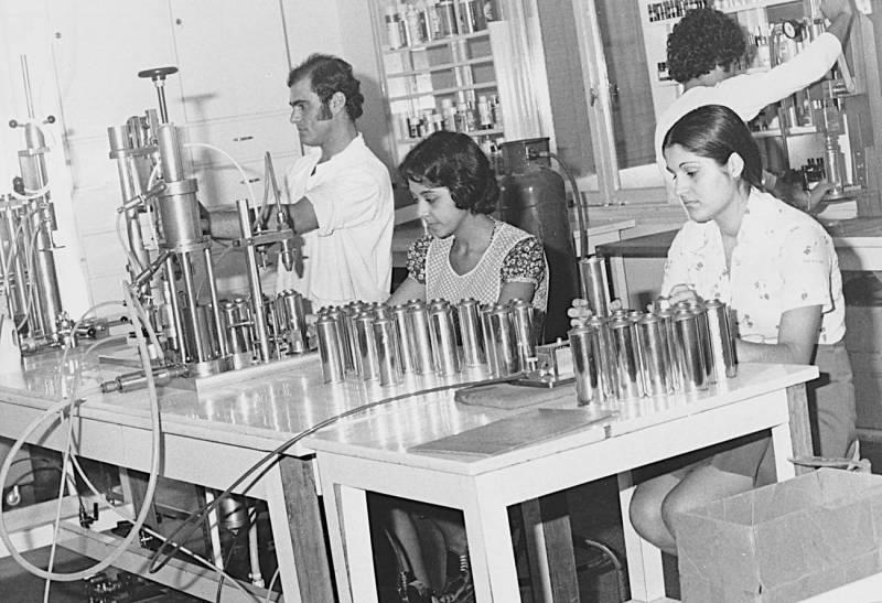En 1967, Amatoury 114 déménage dans une nouvelle usine à Sin el-Fil.