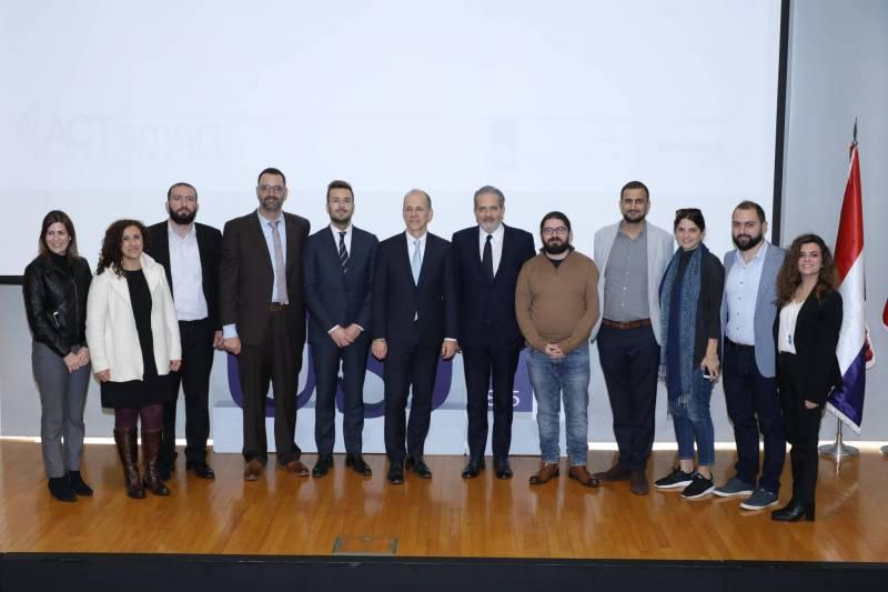 Cérémonie de lancement de l'ACT Smart Innovation Hub