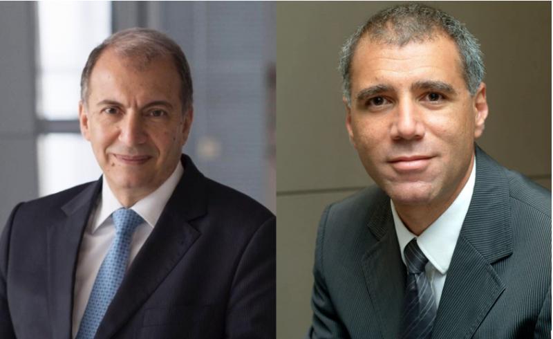 Samir Assaf (à gauche) et Georges Elhedery (à droite)