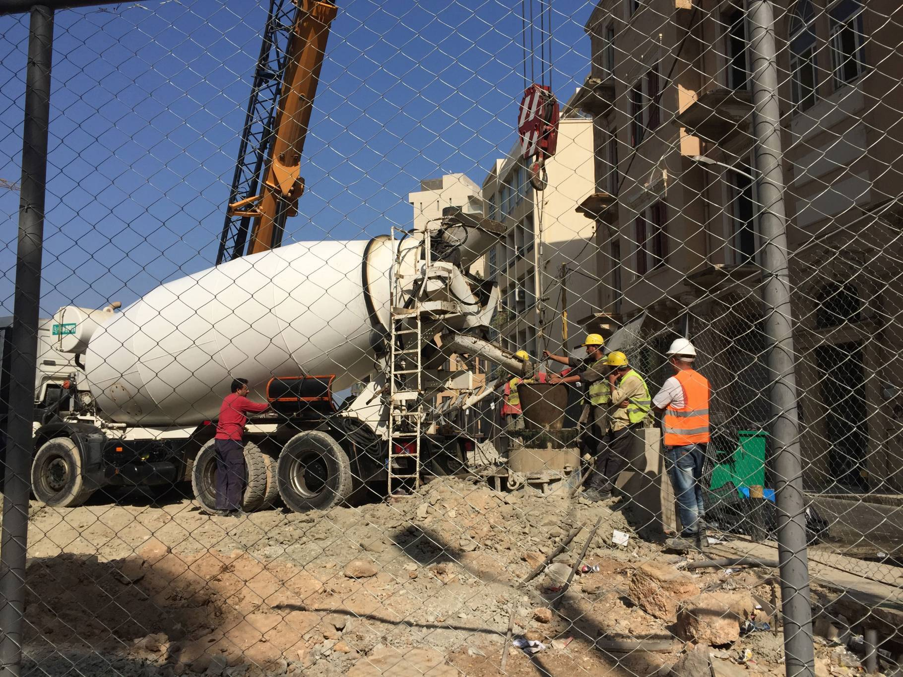 Les chantiers résidentiels à Beyrouth en baisse de 22%