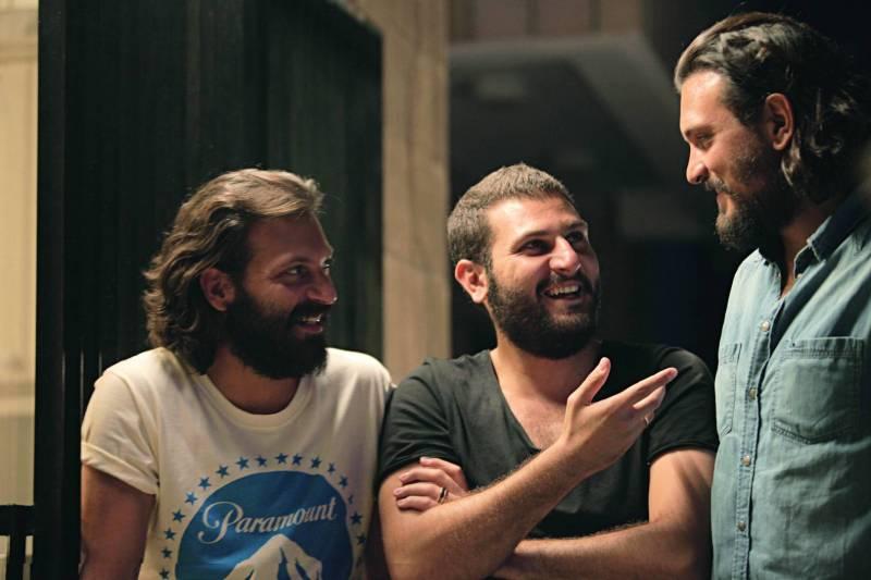 Les frères Christian, Mir Jean et Lucien Bou Chaaya.