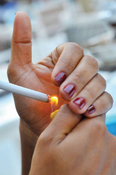 A new licence to smoke is worrying restaurants