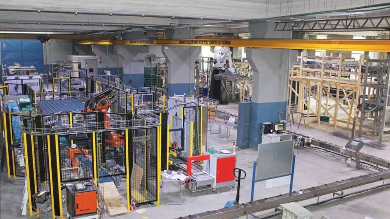 L'intérieur de l'usine de Technica située dans la zone industrielle de Bickfaya.