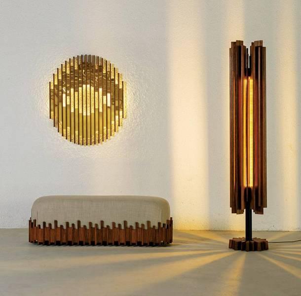 Sarah Bizri a imaginé  une gamme  de meubles  que Jihad Toros  et Jamal Korek  ont mis en œuvre.